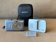Canon Powershot Sd1200 Is Digital Elph W/ Case Charger Battery Works Blue