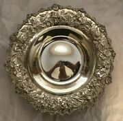 Vintage S. Kirk And Son 925 Sterling Silver Repousse Bowl With Monogram Rmc