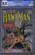 Brave And The Bold 42 Dc Pub 1962 Cgc 8.0very Fine Hawkman 2nd Tryout Series
