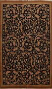 Traditional Nepal Tibetan Hand-knotted Oriental Area Rug Large Wool Floral 10x14