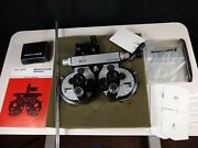 Bausch And Lomb Refractor/phoropter Minus Cylinder -lots Of Extras-optometry