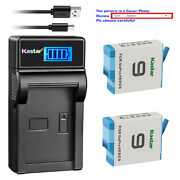 Kastar Battery Lcd Usb Charger For Gopro Hero9 Gopro Hero9 Black Edition Action