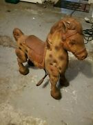 Mobo Horse Bouncy Peddle Horse Vintage