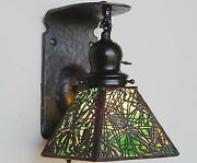 Handel Pine Needle Sconce 1 Of 8 Available Lamp Mission Arts And Crafts