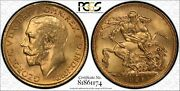 1925s Sovereign In Pcgs Ms64