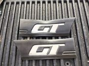 1985-1986 Mustang Gt Side Mouldings Front Of Quarter Panel Pair