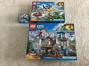 Lego City Mountain Police Series Sets 60174 60175 60170 Lot