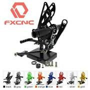 Fxcnc Footpegs Foot Rests Rearsets Fit Rsv4 Rsv4rf/rs4 4t 125/gpr125
