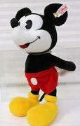 Disneyand039s Mickey Mouse By Steiff 2014 354939 617/2000 New Sold Out At Steiff