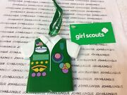 Kurt Adler Girl Scout Usa Vest Ornament New With Tag Girl Scouts Ceramic