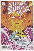 Silver Surfer Black 4 2019 Cover A 1st Cameo Appearance Black Winter