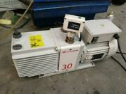 Edwards 30 E2m30 Rotary Vane Pump Working With Good Condition W/warranty