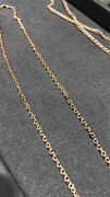 25.5 65 Cm Russian 14k 585 Gold Chain Necklace New, Vintage Ussr Style, Jewelry