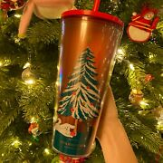 Starbucks Holiday Thailand 2020 Red Dog Cold Cup Limited Edition Collectableandnbsp
