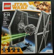 New Lego 75211 Star Wars Imperial Tie Fighter 519 Pcs 4 Minifigures Factory Seal