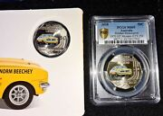 Reduced 🔥 1970 Holden Ht Monaro Gts 350 Pcgs 50c - Ms69 + Extra Card + Gmh