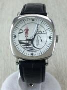 Other Brand Dubey And Schaldenbrand Self-winding Watch Analog Leather Wht Blk D51