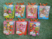 7 Mini-lalaloopsy Tv Show Tribute Dolls Dated 2013 And 2014 Mip/nrfp