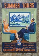 1939 Summer Tours Booklet Chicago And North Western Union Pacific Rr Pacific Nw