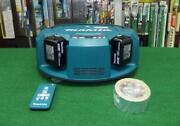 Makita Rc200dzsp Robot Cleaner Body + Battery X 2 + Charger Set New