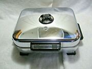 Vintage Collectible K-m Knapp-monarch Co. Electric Waffle Baker-breakfast-camp