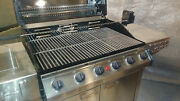 Coleman Weber Charbroil 6 Burner Stainless Ss Grill Grille New Nos Not Smoker