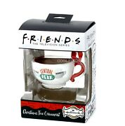 Hallmark Friends Tv Show Central Perk Coffee Cup Ornament With Coffee In Cup