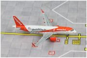 1400 Jc Wings Easyjet Airbus A320 Passenger Airplane Diecast Aircraft Model