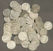 Lot Of 85 Mostly Full Date Buffalo Nickels - 1920 To 1935 - 27518
