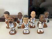 Memphis Grizzlies Complete Set Of Bobbleheads From First Tennessee Bank