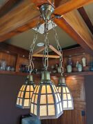 Handel Arts And Crafts Lantern Ceiling Fixture Lamp Mission