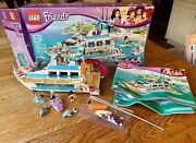 Lego Friends Dolphin Cruiser 41015 Mostly Complete With Manual And Original Box
