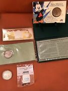 Lot Of Premium Rare Silver Coins And Bars 8 Oz Total Includ A 4oz Currency Note
