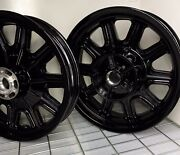 Indian Chieftain Oem Wheels Set 2014 -20 1522506-440 Gloss Black Eim Outright