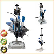 Rotary Tool Workstation Dremel Drill Press Grinding Woodworking Jewelry Making
