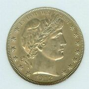 1912 D Barber Half Dollar Silver Appears Uncirculated ++ Exceptional