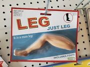 Obvious Plant Just Leg Fake Toy Adult Collectible Art Gag Gift Death By Toys