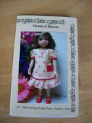 New 13 Effner Little Darling Size Pattern For Dress With Pockets Beret