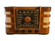 Crosley Model 66tc Vintage Wood Antique Tube Radio. Collectible And Still Works