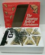 """Vtg 1978 Merry Glow Round """"the Ringing Bells Of Mr Christmas"""" Tested Works"""