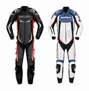 Spidi Track Wind Pro Racing Leather Menand039s Fit Motorcycle Motorbike Suit