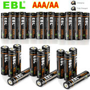 Ebl Lot Usb Rechargeable Lithium Aaa Aa Batteries 1.5v+micro Usb Cable For Mouse