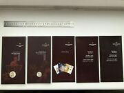 5 Authentic Patek Philippe Watch Service Guide Manual Booklets Books Only