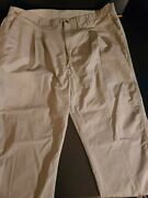 New With Tags Wrangler Men's Big And Tall Rugged Wear Relaxed Fit, Khaki 50 X 30