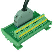 Fx-50hd/z With Cable Fanuc Module 50pin Terminal Blocks To Mr-50rmd2+