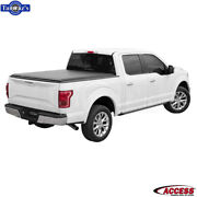 Access Cover Limited Roll Up Tonneau Cover For 2004-2014 Ford F-150 8ftbed