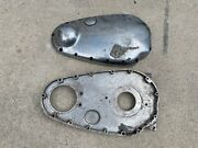 1950's Bsa A10 A7 Pre Unit Inner And Outer Primary Covers Part 42-7503 Preunit