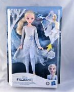 Disney Frozen 2 Magical Discovery Elsa Doll With Lights And Sounds