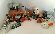 Star Wars Fast Food Toys Taco Bell Burger King Lot Of 21 Happy Meal Boba R2d2