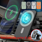 Mag 15w Car Magnetic Wireless Chargers Mount Safe For Iphone 12 Pro Max 12 Mini